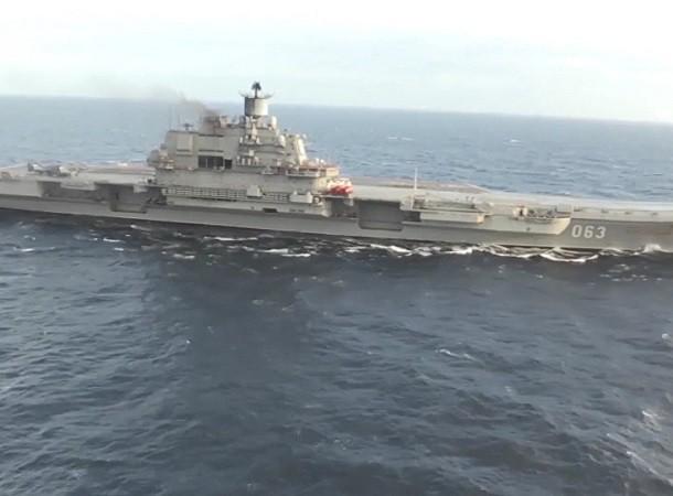 Tàu sân bay Đô đốc Kuznetsov trở về Nga sau nhiệm vụ tại Địa Trung Hải