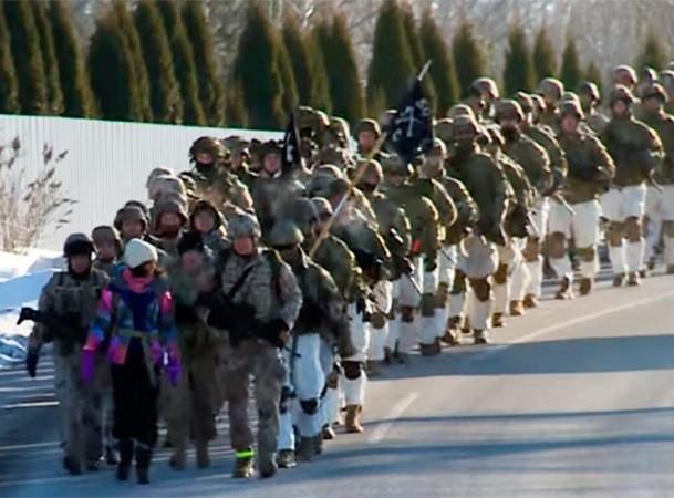 Đoàn lính dù Mỹ có lúc chỉ cách biên giới Nga 60km