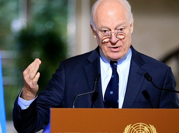 Đặc phái viên Liên Hợp Quốc về vấn đề Syria, ông Staffan de Mistura