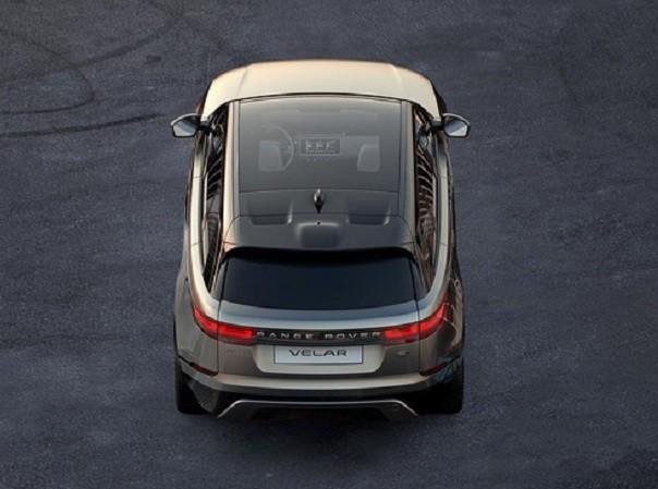 Hình ảnh về Range Rover Velar được Land Rover công bố