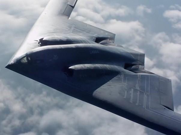 Máy bay ném bom B-2 của Mỹ