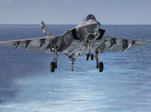 F-35 sẽ làm nhiệm vụ như F-22 ở Trung Đông