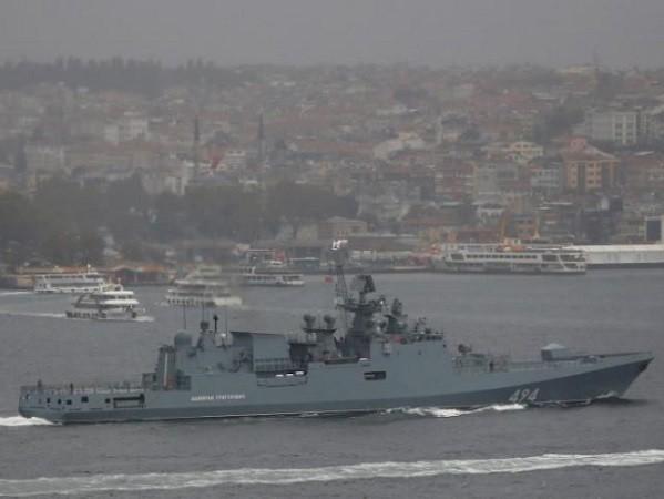 Tàu Đô đốc Grigorovich sẽ gia nhập nhóm chiến hạm Nga hoạt động gần bờ biển Syria
