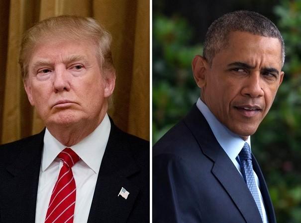 Tổng thống Trump cho rằng, ông Obama đứng sau sự bất ổn nhằm vào chính quyền mới