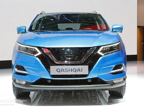 Nissan Qashqai tại triển lãm Geneva 2017