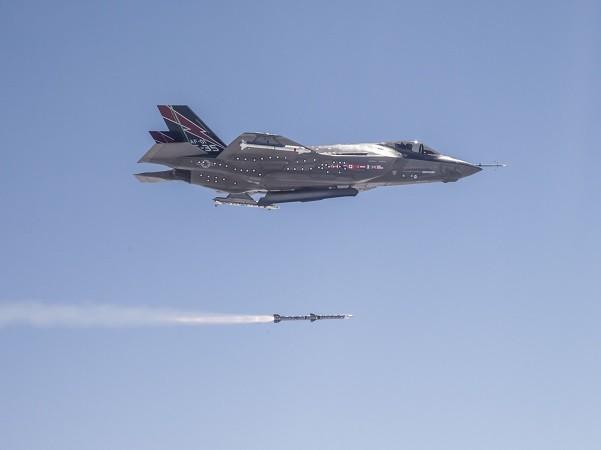 Đây là lần đầu tiên F-35 phóng ASRAAM