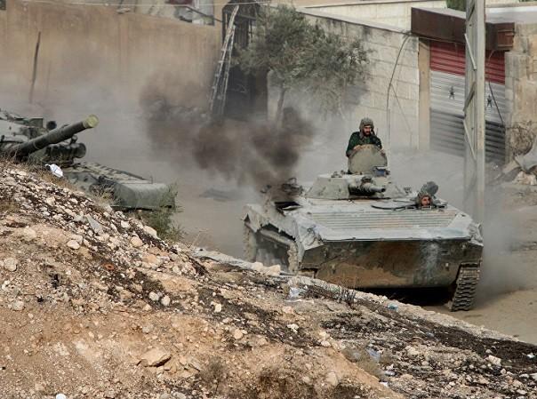 Phe đối lập tấn công mạnh quân đội Syria ở Damascus ảnh 1