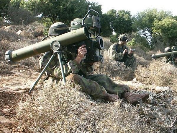 Tên lửa Spike của Israel rất được Ấn Độ ưa chuộng
