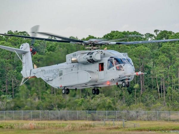 Trực thăng CH-53K của thủy quân lục chiến Mỹ