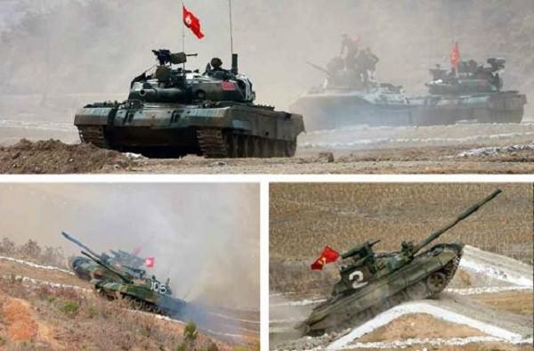 Xe tăng của Triều Tiên chủ yếu được tự nâng cấp từ những loại mua của Liên-xô