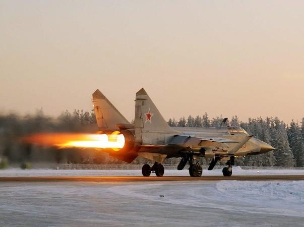 Không có thiệt hại về người trong vụ rơi máy bay MiG-31 của Nga vừa qua