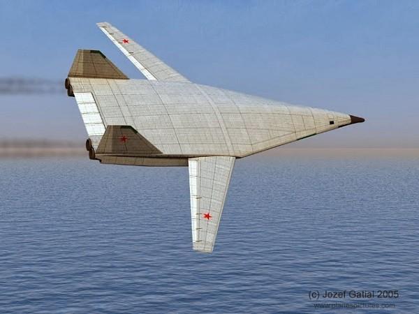 Hình ảnh concept máy bay ném bom thế hệ mới của Nga