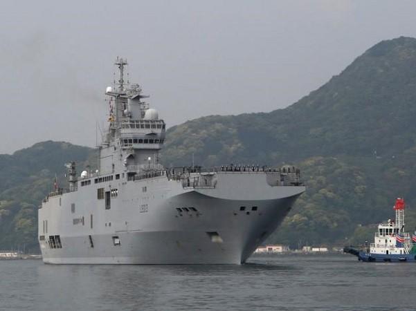 Tàu Mistral sẽ dẫn đầu bài tập trận sắp diễn ra với quân đội Anh, Mỹ và Nhật Bản