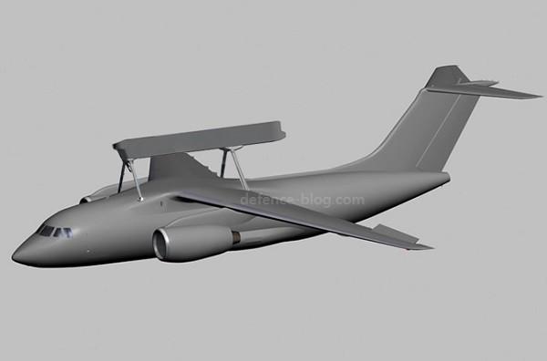 Ukraine chế tạo máy bay chỉ huy và cảnh báo sớm mới