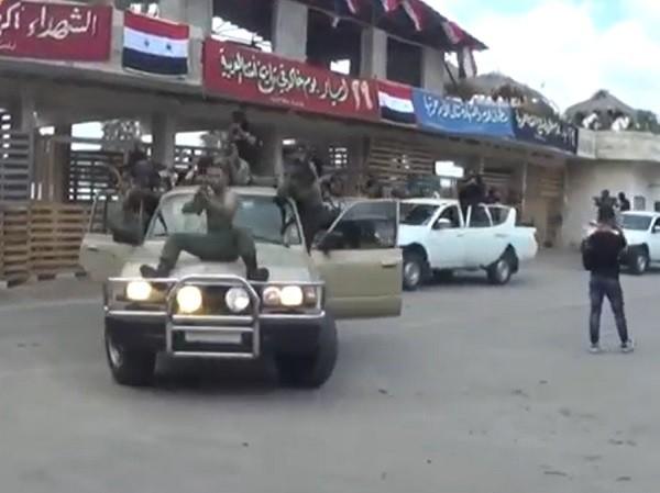 Cảnh sát Syria thiện chiến không kém gì lực lượng quân đội