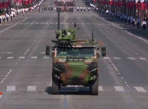 Hình ảnh chiếc xe bọc thép Griffon mới của Pháp