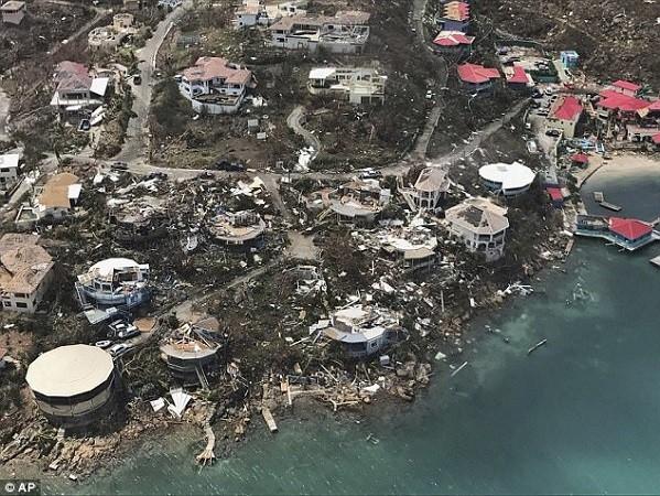 Cơn bãi Irma khiến nhiều tòa nhà tại quần đảo Virgin bị phá hủy, trong đó có cả nhà tù