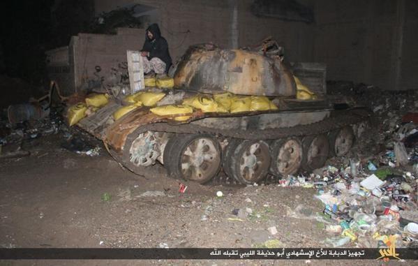 Muôn hình vạn trạng các loại vũ khí tự chế quái dị của IS ảnh 15