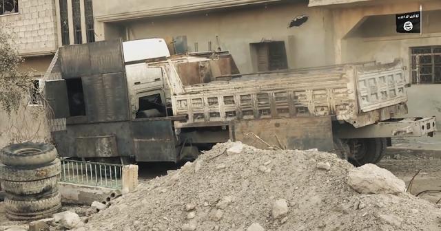 Muôn hình vạn trạng các loại vũ khí tự chế quái dị của IS ảnh 12