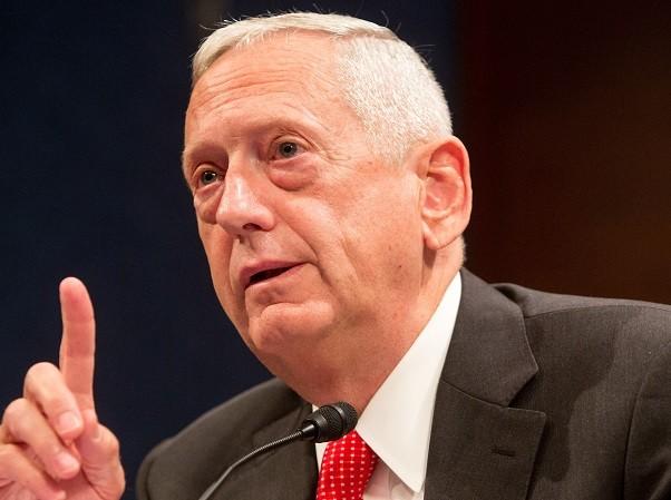 Bộ trưởng Quốc phòng Mỹ Mattis không loại trừ việc triển khai vũ khí hạt nhân cấp chiến thuật đến Hàn Quốc