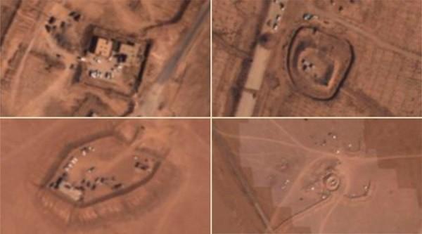 Hình ảnh mà Nga cho là chứng minh quân đội Mỹ đang hợp tác với IS