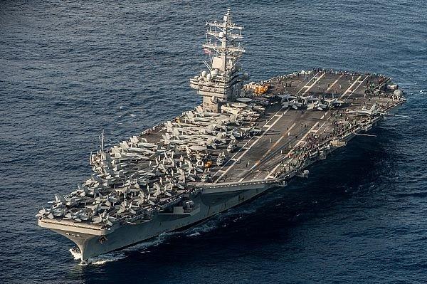Tàu sân bay Mỹ sẽ diễn tập cùng hải quân Hàn Quốc vào giữa tháng 10