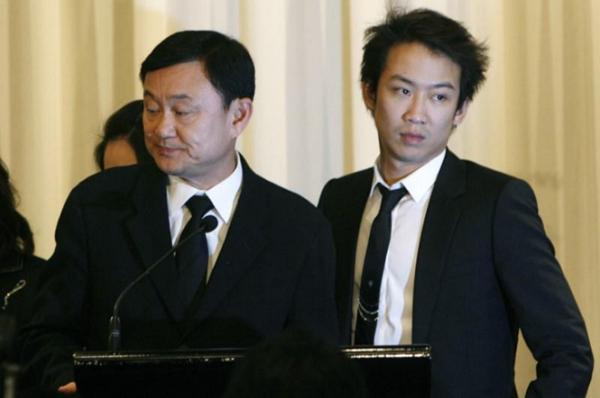 Con trai ông Thaksin đã đến đầu thú nhưng không bị bắt giam