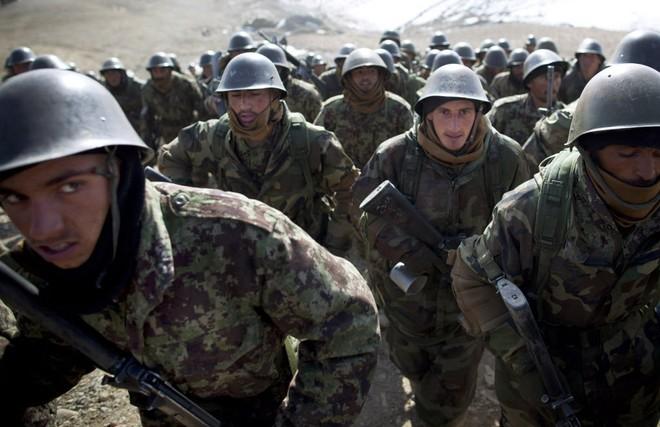 Lực lượng Afghanistan đã liên tiếp bị tấn công trong vòng 1 tuần qua