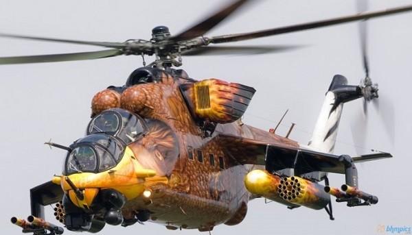 Trực thăng Mi-24 đã được Nga sử dụng hàng chục năm qua
