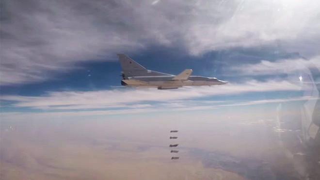 6 máy bay ném bom Tu-22M3 tiếp tục được Nga triển khai không kích khủng bố