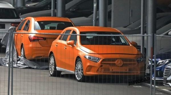 Mercedes A-Class 2019 sẽ có kích thước lớn hơn so với phiên bản cũ