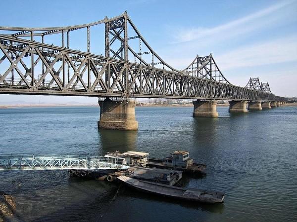 Cây cầu hữu nghĩ Triều Tiên - Trung Quốc có giá trị quan trọng về mặt kinh tế