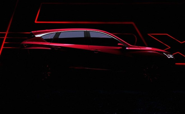 Hình ảnh teaser về mẫu Acura RDX 2019