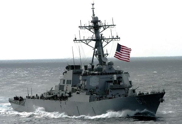 Tàu USS Carney của hạm đội 6 - hải quân Mỹ