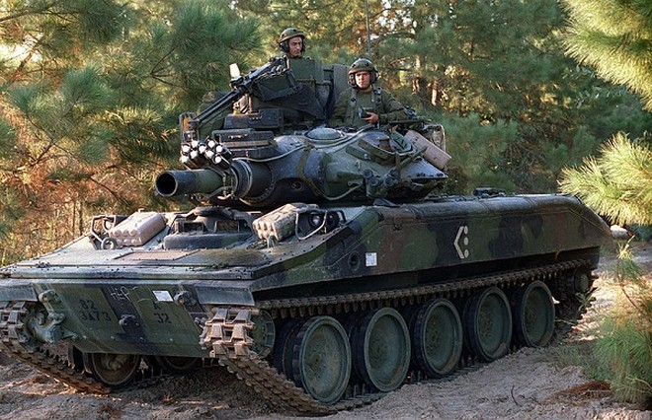 Xe tăng M551 Sheridan của quân đội Mỹ