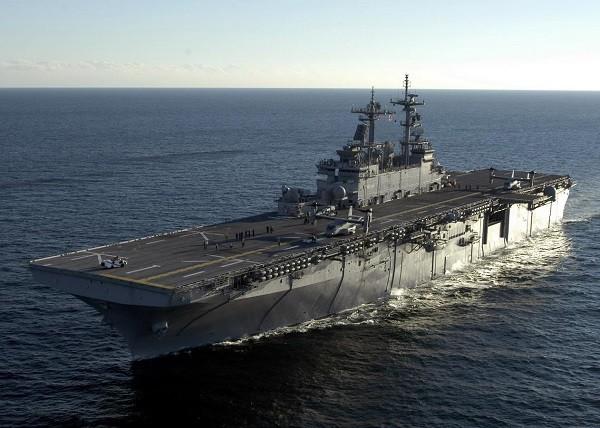 Tàu đổ bộ USS Wasp sẽ mang theo F-35B đến bán đảo Triều Tiên