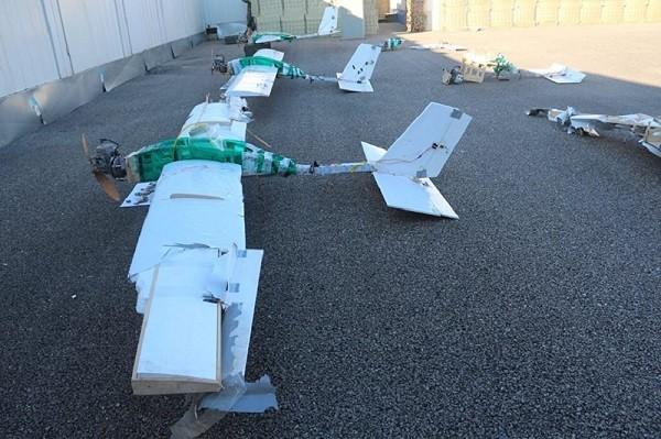Nga tiết lộ ảnh các UAV tấn công vào căn cứ quân sự tại Syria