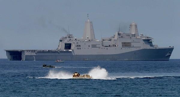 Mỹ liên tiếp thử nghiệm vũ khí laser trên tàu chiến