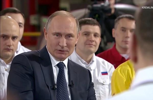 Tổng thống Putin bắt đầu vận động tranh cử từ hôm 10-1