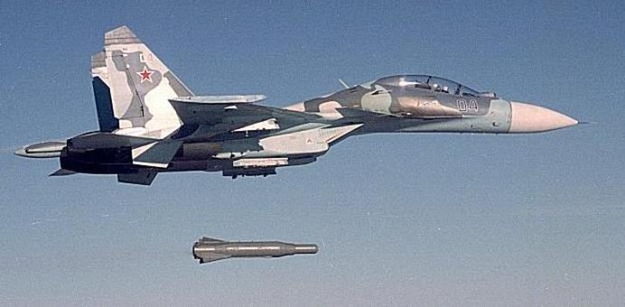 Bom lượn Drill có chứa 12 quả bom nhỏ hơn