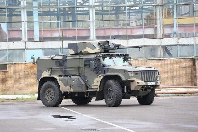Typhoon-VDV sẽ là một phương tiện chiến đấu cơ động và trang bị nhiều vũ khí mới