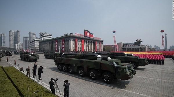 Triều Tiên thường xuyên tổ chức duyệt binh vào các dịp quan trọng