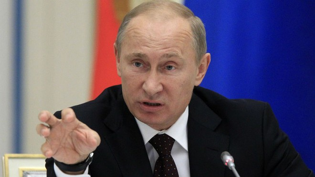 Tổng thống Putin lo Syria tiếp tục bị phương Tây tấn công