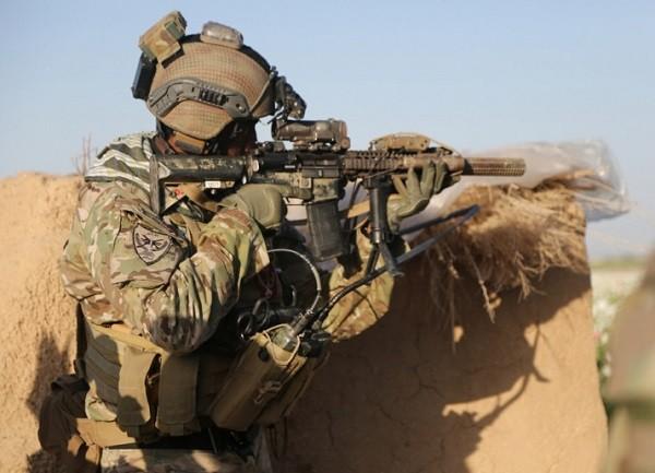 Lính Mỹ đang tham gia hoạt động chống khủng bố ở Somalia