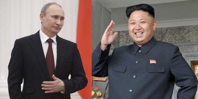 Tổng thống Putin mời ông Kim Jong-un thăm Nga vào tháng 9 tới