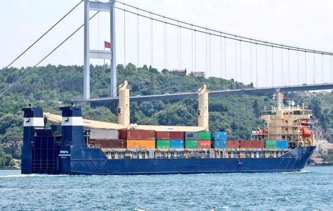 Tàu vận tải Nga liên tiếp chở khí tài quân sự đến Syria