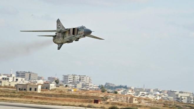 Quân đội Syria đang tăng cường chiến dịch quân sự ở tây nam đất nước