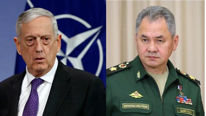 Bộ trưởng Quốc phòng Nga - Mỹ chưa từng gặp nhau trong nhiều năm qua