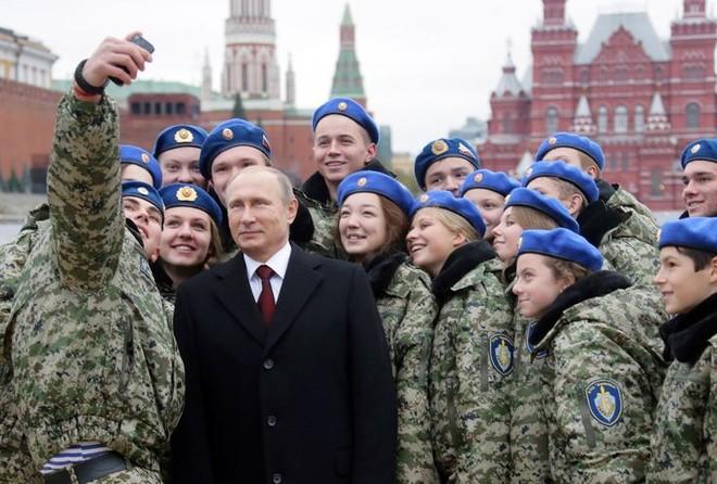 Tổng thống Putin muốn đảm bảo quân đội trung thành với quốc gia