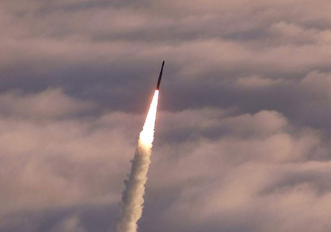 Tên lửa Minuteman III đã tự hủy khi đang bay trên Thái Bình Dương